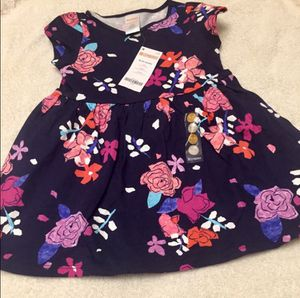NWT, Girl 18 - 24 m / 2T, Gymboree Cotton Flower Dress for Sale in Bountiful, UT