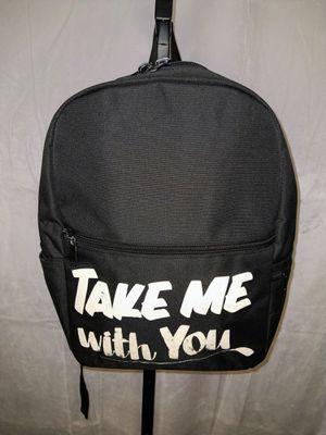 "Black Backpack ""Take Me W/ You"" for Sale in Duluth, GA"