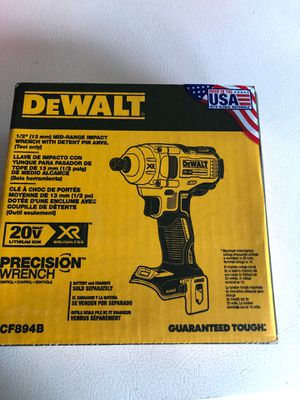 Dewalt 1/2 inch mid torque impact wrench for Sale in Denver, CO