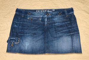 Guess Size 31 Jean Mini Skirt for Sale in Warren, MI