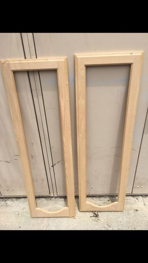 Oak cabinet frame doors for Sale in Coronado, CA