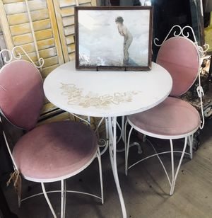 Cute vintage ice cream parlor set. for Sale in Morro Bay, CA