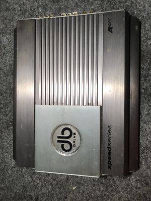 Db Drive Speed Series A290 Amp for Sale in Houston, TX