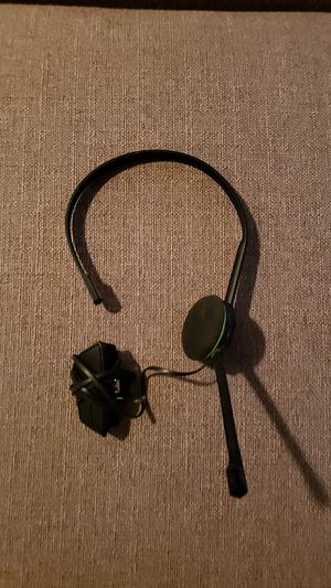 Xbox headset for Sale in Prineville, OR