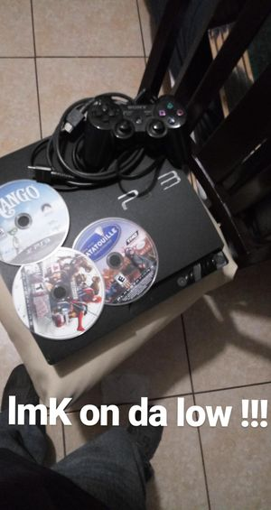 Ps3 with games and controller!! for Sale in Bell Gardens, CA