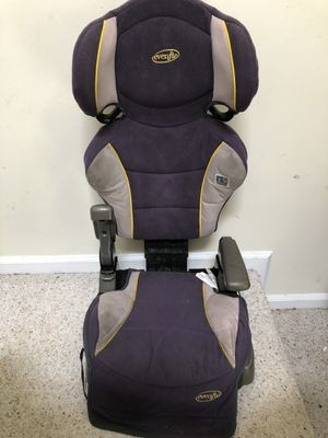 Free Car seat for trade in discount manufacter 04062010 evenflo big kid for Sale in Mount Laurel Township, NJ