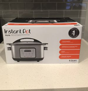 Instant Pot Aura multi-use programmable multicooker for Sale in Wellington, FL