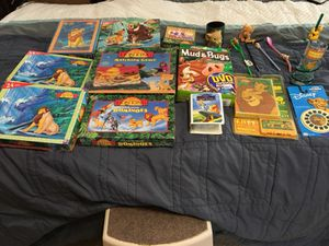 Lion king collectables for Sale in Raleigh, NC