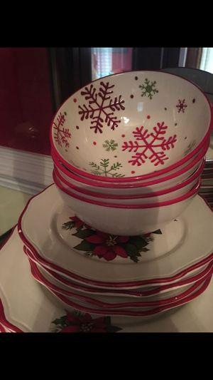 Better home, 12 piece dinnerware set , kitchen plates for Sale in Richmond, VA