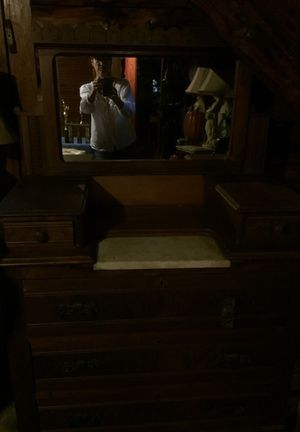 Walnut dresser/chest for Sale in Raleigh, NC