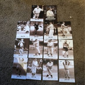 Babe Ruth Baseball Card Lot 14 Nr Mint -Mint & gradeable Cards All For Only $6 for Sale in College Park, MD