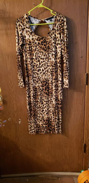 Snap animal print dress for Sale in Anchorage, AK