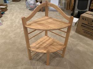 Beautiful Wooden Corner Shelf for Sale in Leesburg, VA