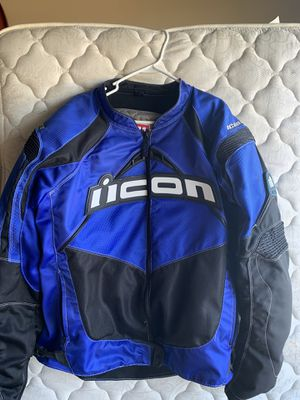 Icon motorcycle jacket for Sale in Alvin, TX