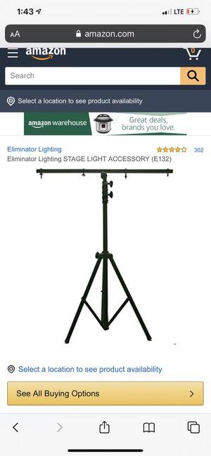 Eliminator E132 light tripod for Sale in Murray, UT