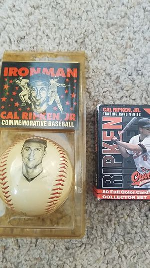 Cal Ripken baseball and trading card series for Sale in Houston, TX