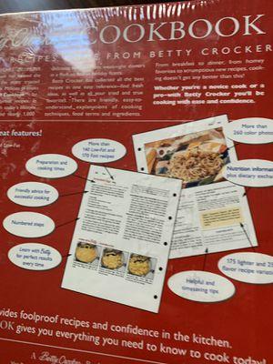 Classic Betty Crocker cookbook for Sale in Metuchen, NJ