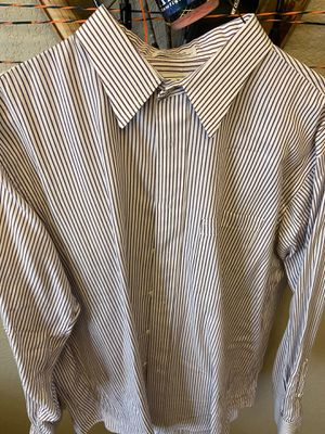 Burberry Red Striped Men's XL Button down for Sale in Brighton, CO