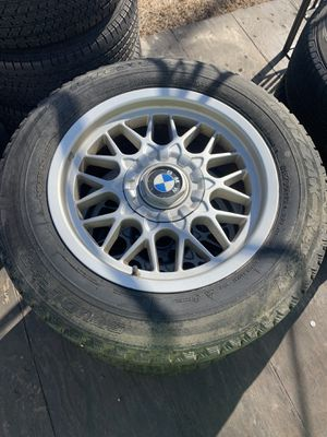Bmw honey comb bbs style rims for Sale in Smithfield, RI