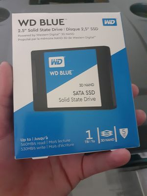 """NIB WD BLUE 2.5"""" SSD 1TB for Sale in St. Louis, MO"""