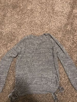Grey sweater, size L for Sale in Sioux City, IA