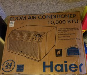 Haier Air Conditioner 10,000BTU for Sale in Pittsburgh, PA