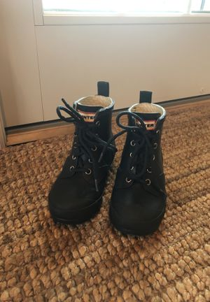 Hunter toddler/little kid rain boots size 11/12 navy for Sale in South Harrison Township, NJ