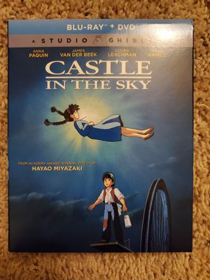 Castle In The Sky Blu-ray & DVD for Sale in Lacey, WA