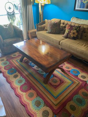 Coffee table with matching end table $450 OBO for Sale in Fort Lauderdale, FL
