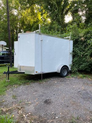6x10 enclosed trailer for Sale in Durham, NC