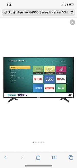 Brand new 40 inch flat screen Hisense tv for Sale in Anaheim, CA