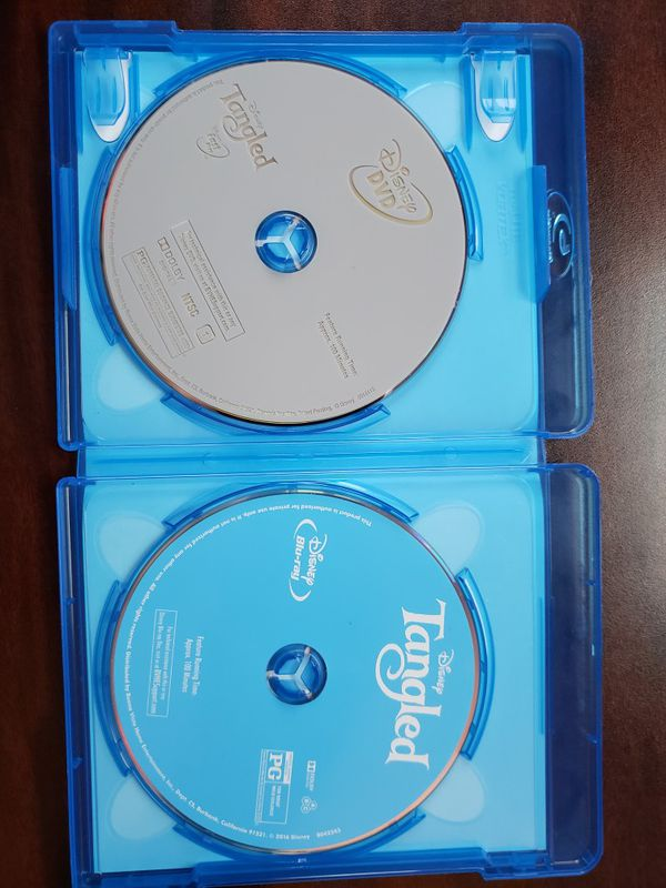 Tangled Blu-ray and The Incredibles Dvd