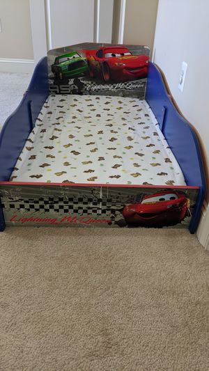 Toddler Bed - Cars for Sale in Clarksburg, MD