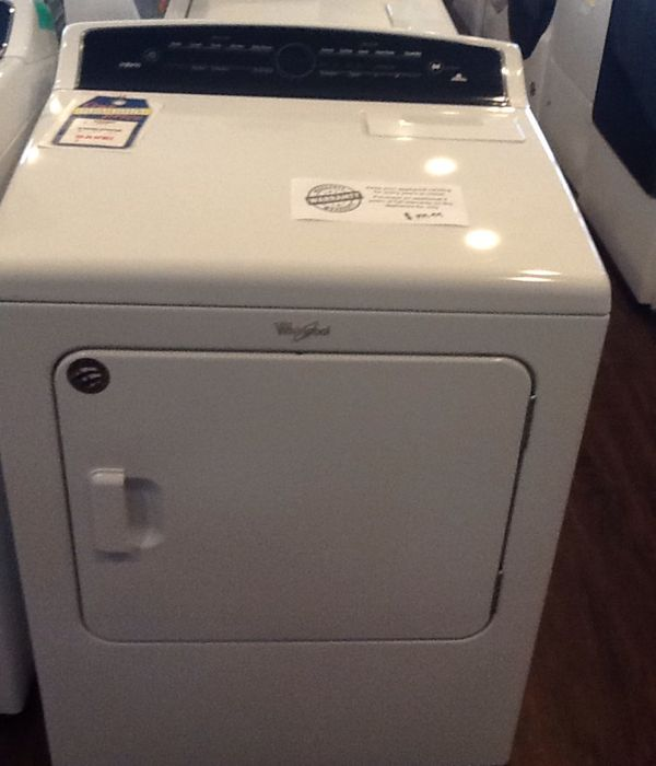 New open box whirlpool electric dryer WED7000DW