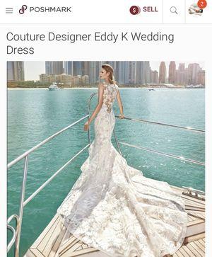 Eddy K Designer Wedding Gown for Sale in Pflugerville, TX