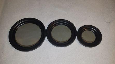3 Round Mirror Set for Sale in Revere,  MA