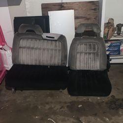 Old Body Style Chevy Silverado Split Bench Seat . for Sale in Rialto,  CA