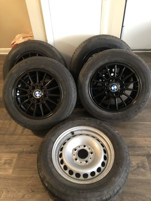 BMW 3 series tire and rim set for Sale in Monroe, NC