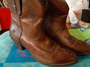 midsize zipup Ariat boots for Sale in San Antonio, TX