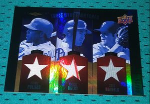 Upper Deck Philadelphia Phillies Game Used Relic Cards for Sale in Joliet, IL