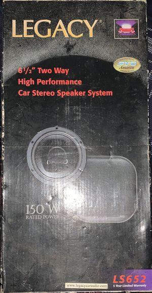 Legacy Car Stereo Speaker System for Sale in Virginia Beach, VA