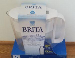 *New in Package* Brita Water Filter + 6 replacement filters for Sale in Leesburg, VA