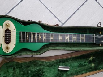 Gibson Lap Steel Guitar 1940s/50s With Slide And Case for Sale in Pittsburgh,  PA