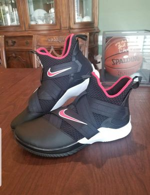 BRAND NEW Nike Lebron Soldier 12 Bred Mens AO2609-001 Black Red Basketball Shoes Size 18 for Sale in Lexington, SC