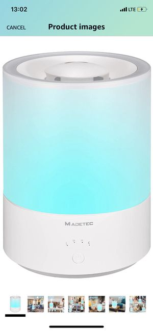 Top Fill Humidifiers for Home, Essential Oil Compatible 4L/1.05 Gallon Quiet Ultrasonic Cool Mist Humidifier for Bedroom Baby Room Large Room with Ad for Sale in Queens, NY