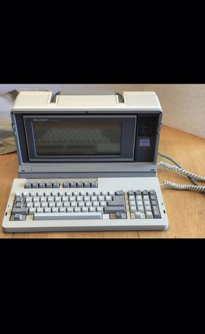 Vintage 1985 SHARP PC-7000 Portable Computer for Sale in Woodbridge, VA