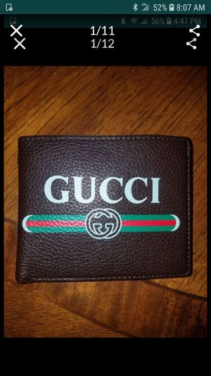 Mens Leather Wallet. Brand New With Box. $60.00 Firm Price No Trades for Sale in Everett, WA