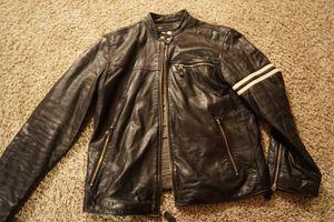 Leather biker jacket for Sale in Eagar, AZ