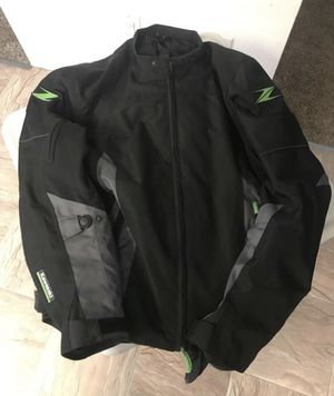 Kawasaki riding motorcycle jacket for Sale in Puyallup, WA