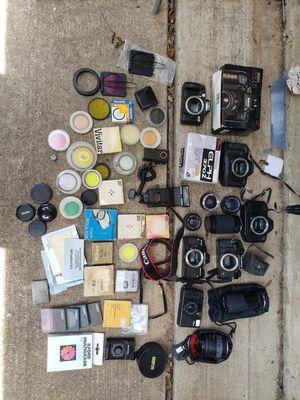 Huge Vintage Film Camera Lot! for Sale in Austin, TX
